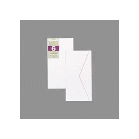 洋封筒 のり付 洋形6号 ヨ−186 10枚入 332521