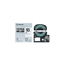 テプラPROテープ SS18K(テープ幅 18mm・白テープ/黒文字)