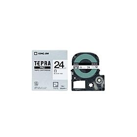 テプラPROテープ SS24K(テープ幅 24mm・白テープ/黒文字)