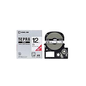テプラPROテープ SS12KL(テープ幅 12mmロングタイプ・白テープ/黒文字)