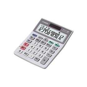 小型卓上大型表示時間計算付エコ電卓 MW-12A-N