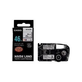 ネームランドテープ マグネットテープ 46mm 白に黒文字 327708