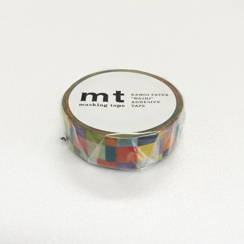 マスキングテープ mt MT01D176 モザイク・ブライト
