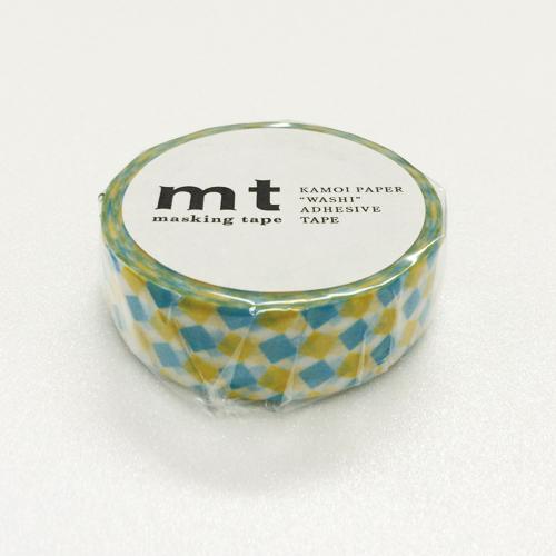 マスキングテープ mt MT01D178 スクエア・イエロー