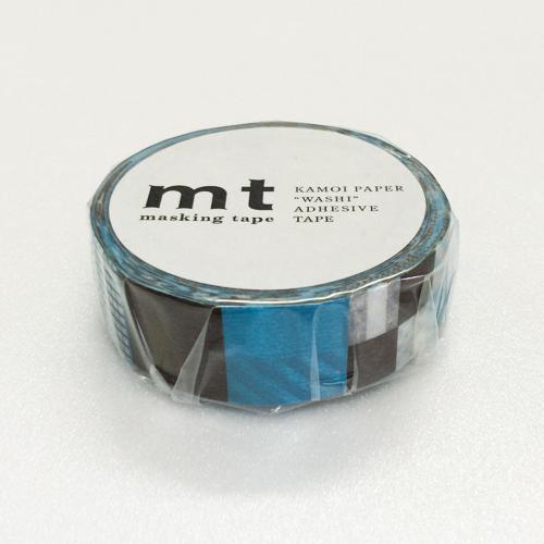 マスキングテープ mt MT01D122 ミックス・ブルー