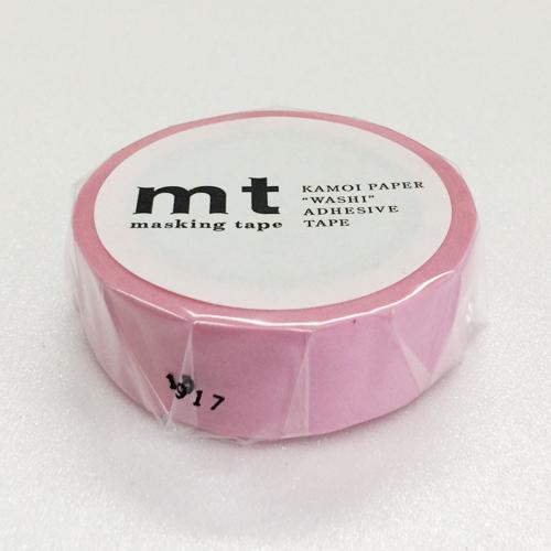マスキングテープ mt MT01P185 ローズピンク