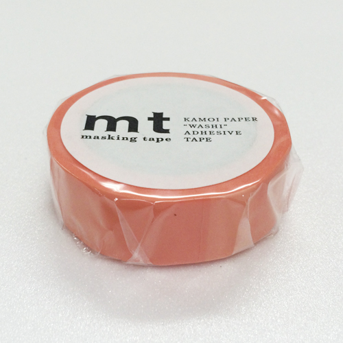 マスキングテープ mt MT01P188 サーモンピンク