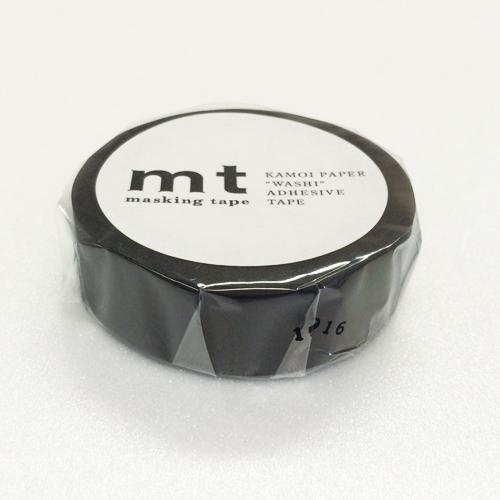 マスキングテープ mt MT01P207 マットブラック