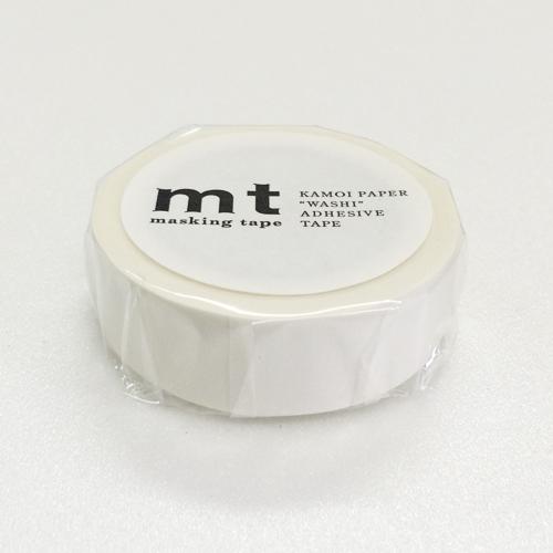 マスキングテープ mt MT01P208 マットホワイト