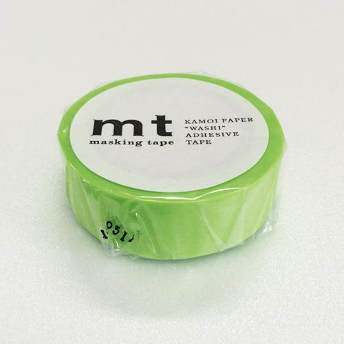 マスキングテープ mt MT01P211 ショッキンググリーン