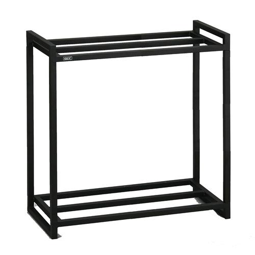 ジェックス 60cm水槽用2段台組立 ブラック