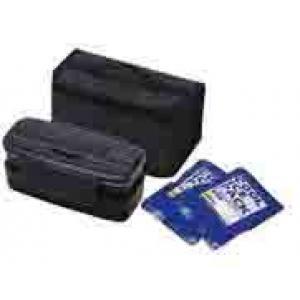 保冷バック付タイトランチボックス2段式  KCPOW5T