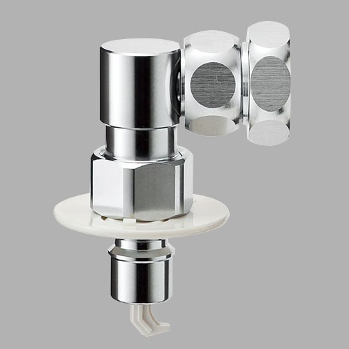 三栄水栓(SANーEI) 洗濯機用ニップル PY1230−40TVX−16
