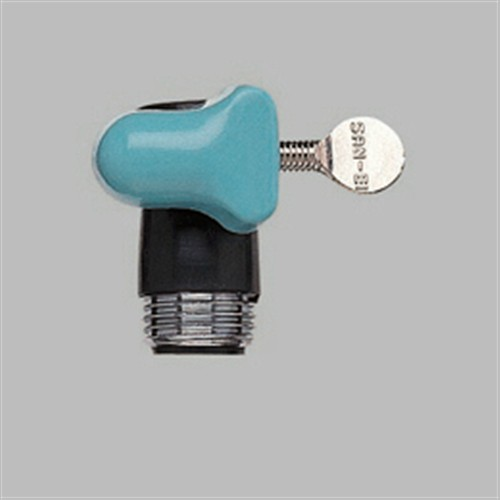 三栄水栓(SANーEI) 水栓差込口(ブラック) PS30−90−D