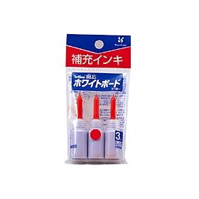 潤芯ホワイトボードマーカー 補充インキ 赤 3本入 360523