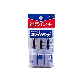 潤芯ホワイトボードマーカー 補充インキ 青 3本入 360524