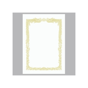 OA賞状用紙 白 B5 横書用 10−1051 10枚入