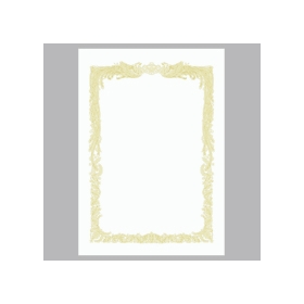 OA賞状用紙 白 A4 横書用 10−1061 10枚入