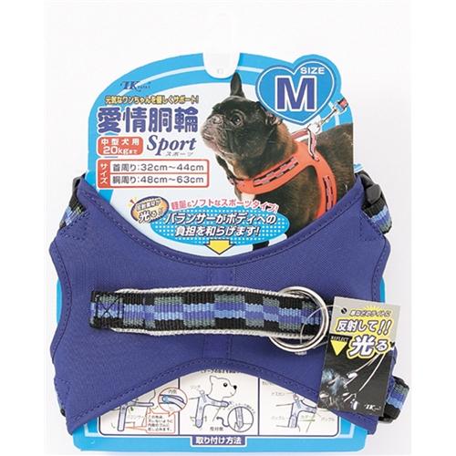 愛情胴輪スポーツ M 青