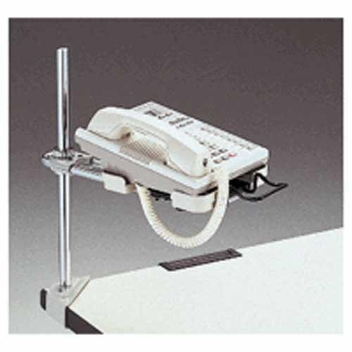 PLUS(プラス)  電話機台コーナークランプ CL−32FW 221034