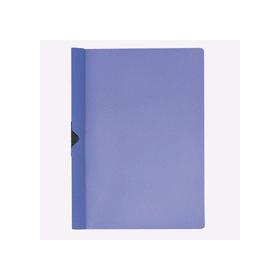 PLUS(プラス)  スライドクリップファイル A4縦 20枚収容 ブルー 422632
