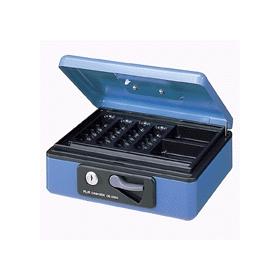 PLUS(プラス)  小型手提金庫 A6 CB−060G ブルー 012861