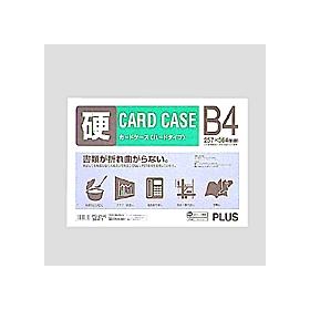 カードケースハードタイプ(白枠) B4 PC−214C 034471