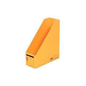PLUS(プラス)  ボックスファイル A4縦 FL−052BF イエロー 302814