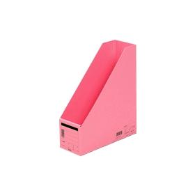 PLUS(プラス)  ボックスファイル A4縦 FL−052BF ピンク 302815
