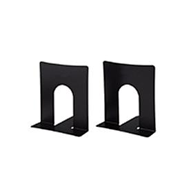 PLUS(プラス)  ブックエンド幅広タイプ BS−102 ブラック 1組2個 326809