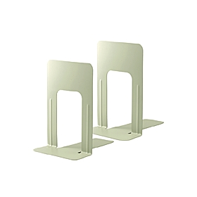 PLUS(プラス)  ブックエンドLサイズ BS−201 エルグレー 1組2個 326811