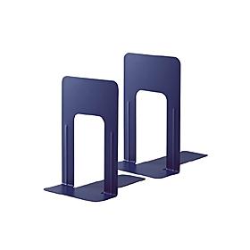PLUS(プラス)  ブックエンドLサイズ BS−201 ブルー 1組2個 326813