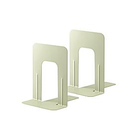PLUS(プラス)  ブックエンドMサイズ BS−202 エルグレー 1組2個 326814