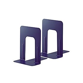 PLUS(プラス)  ブックエンドMサイズ BS−202 ブルー 1組2個 326816