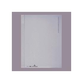 PLUS(プラス)  クリアーホルダー(見出しなし) A4縦4穴 クリアー 082140