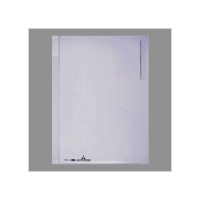 PLUS(プラス)  クリアーホルダー(見出し付) A4縦4穴 クリアー 082130
