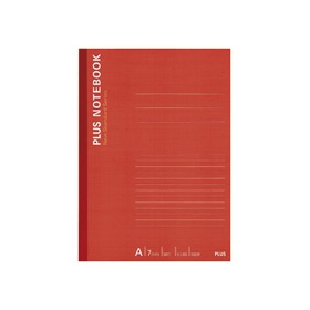 PLUS(プラス)  ノートブックA罫 セミB5 NO−010AS 100枚 335096