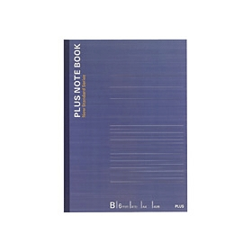 PLUS(プラス)  ノートブックB罫 A4 NO−204BS 40枚 335101