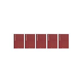 PLUS(プラス)  ノートブックA罫 セミB5 NO−003AS−5P 5冊 335112
