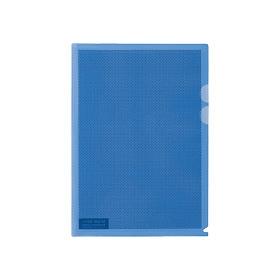 PLUS(プラス)  カモフラージュホルダー A4 5枚パック ブルー 306217