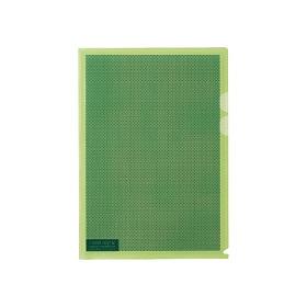 PLUS(プラス)  カモフラージュホルダー A4 5枚パック ライトグリーン 306219