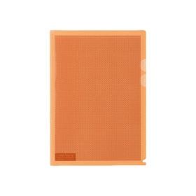 PLUS(プラス)  カモフラージュホルダー A4 5枚パック オレンジ 306220