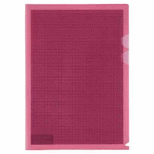 PLUS(プラス)  ハード仕切付カモフラージュホルダー FL−129CH ピンク 204675