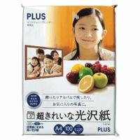 PLUS(プラス)  超きれいな光沢紙 A4 IT−221GC 100枚 210633