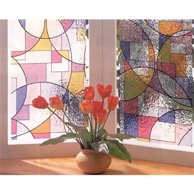 明和グラビア 窓飾りシート46×90cm GLS4652
