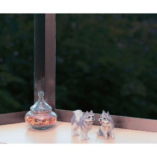 明和グラビア 透明遮熱窓貼りシート スモーク