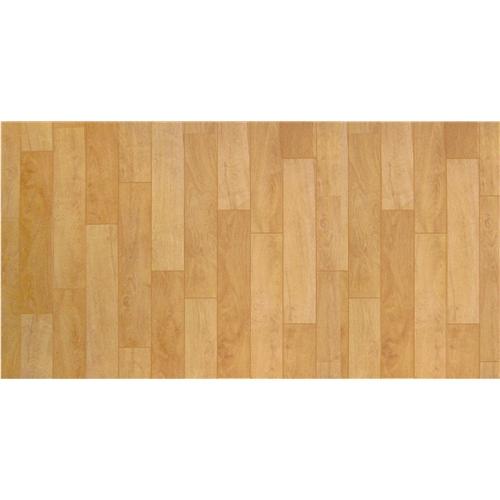 1帖フロアーマット 木目 ベージュ 約80×170cm
