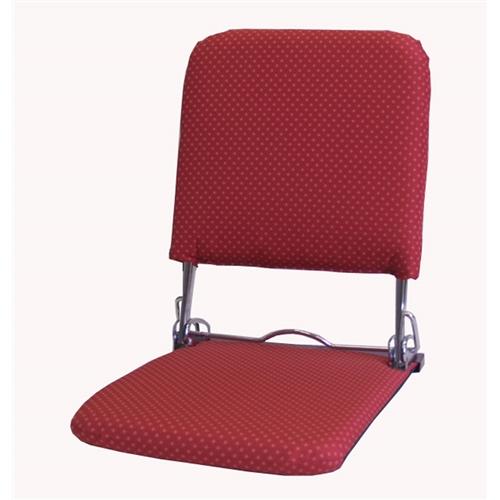 お座敷和座椅子 P−飛騨 レッド