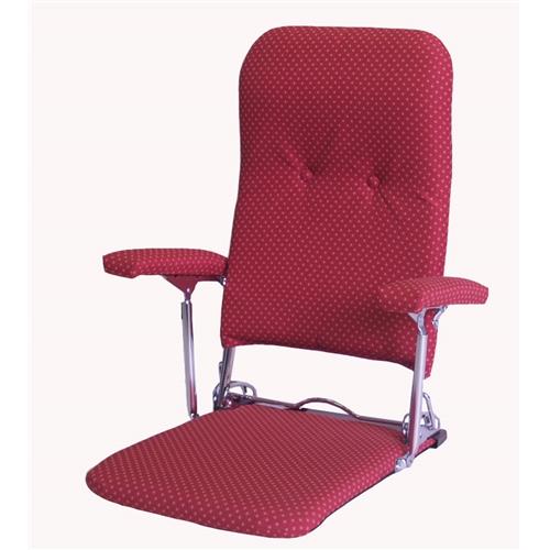 お座敷肘付座椅子 PH−飛騨 レッド