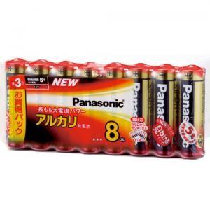 パナソニック(Panasonic) アルカリ電池 単3×8本